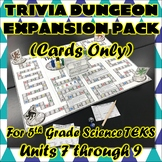 Trivia Dungeon Expansion Pack, 5th Grade, Units 7 through 9