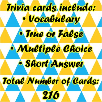 Trivia Dungeon Expansion Pack, 6th Grade, Units 6 through 8