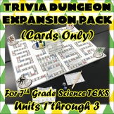 Trivia Dungeon Expansion Pack, 7th Grade, Units 1 through 3