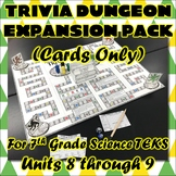 Trivia Dungeon Expansion Pack, 7th Grade, Units 8 through 9