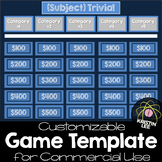 Trivia Game Template - For Commercial Use