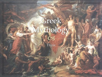 Trivia: Greek Mythology (50 Slides)