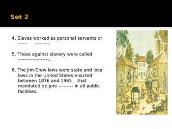 Trivia Quiz ---Black History