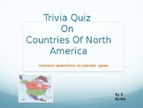 Trivia Quiz On Countries Of North America
