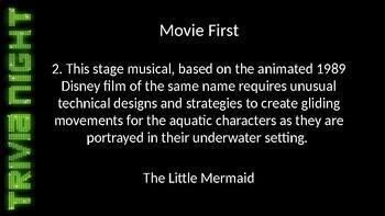 Trivia Round - Movie First