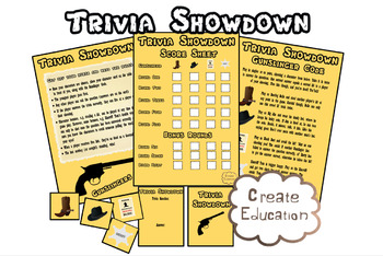 Trivia Showdown Games Template for all Topics and Subjects!