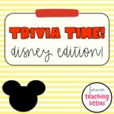 Trivia Time | Disney Edition | Quiz Style Game | Google Sl
