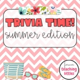 Trivia Time | Quiz Style Game | Summer Edition | Editable