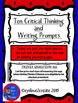 Trivia (U.S. Presidents) {Task Card} {Critical Thinking and Writing Prompts}