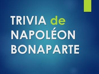 Trivia de Napoléon (en français)