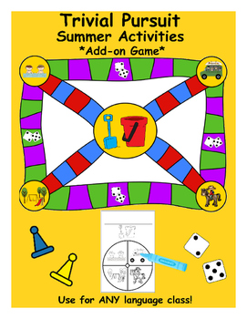 Trivial Pursuit Game – Summer Holiday Activities (**Add-On Pack)