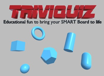 Triviquiz - Educational fun quiz game to bring your SMART Board to life