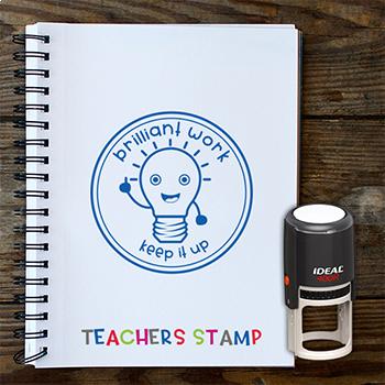 Trodat Ideal Self-Inking - Teacher Stamp