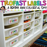 Trofast Labels | Pre-made and Editable