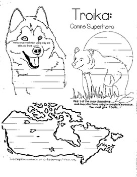Troika: Canine Superhero Guided Reading Packet