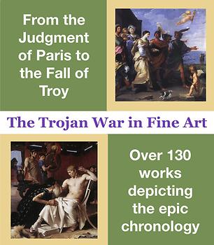 Trojan War Fine Art Collection for the Iliad, Aeneid, and Trojan Women