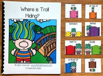 Troll Adapted Book:  Where is Troll Hiding
