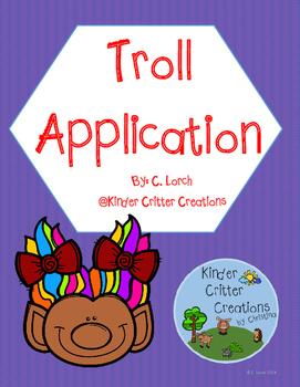 Troll Application (Three Billy Goats Gruff)