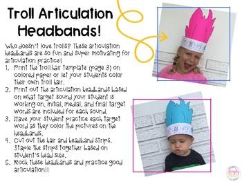 Troll Articulation Headbands!