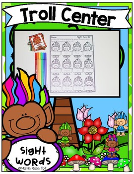 Troll Center ~ Sight Words