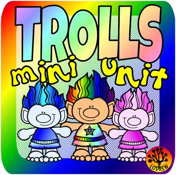 Troll Centers Trolls Activities Math Literacy Fine Motor Counting Playdough Mats