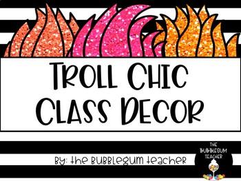 Troll Chic Classroom Decor Bundle