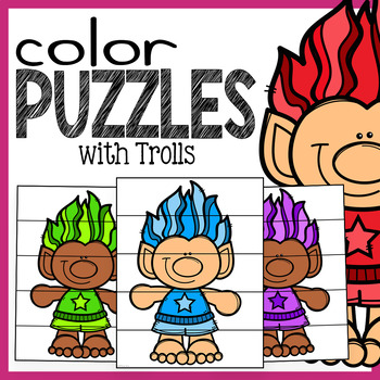 Troll Color Puzzles