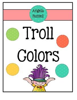 Troll Colors ~ Celebrate Reading