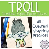 Troll (Boy) Coordinate Graphing Picture