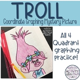 Troll (Girl) Coordinate Graphing Picture