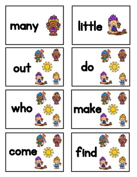 Troll Fun Game - High Frequency Words (Spring)