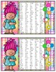 Troll Literacy First Sight Word Cards Collection List K, A, & B