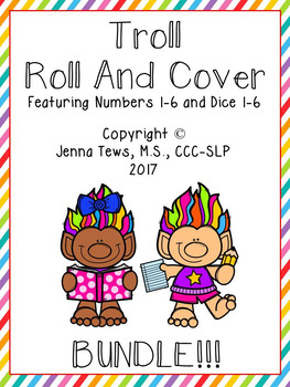 Troll Roll and Cover:  BUNDLE!