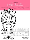 Troll Sliders BUNDLE: Speech Therapy Activity for Speech and Language
