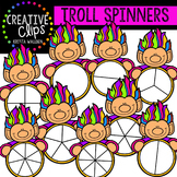 Troll Spinners {Creative Clips Digital Clipart}