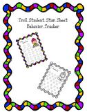 Troll Student Star behavior Tracker