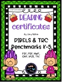 Troll Themed Reading Certificates
