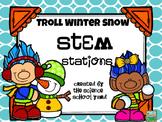 Troll Winter Snow STEM Stations
