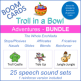 """Adventures"" THE WHOLE ENCHILADA Boom Card Bundle (Troll i"