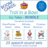 """Icy Tales"" THE WHOLE ENCHILADA Boom Card Bundle (Troll in"