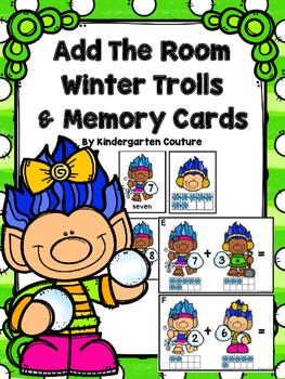 Trolls Add The Room Winter & Memory Cards