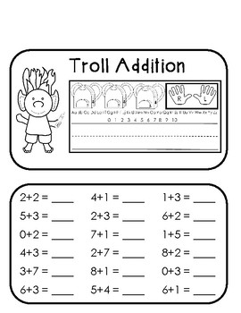 Addition Project: Trolls