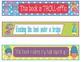Trolls Bookmarks, Shelf Markers or Desk Name Plates - EDITABLE