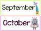 Trolls Calendar Headers