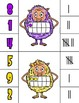 Trolls Clip Cards Numbers 1-10   Number-Ten Frame-Tally
