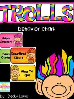 Trolls Clip Chart