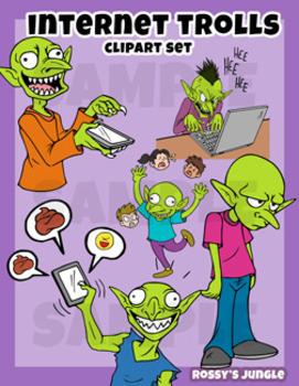 Trolls Clip art Miniset