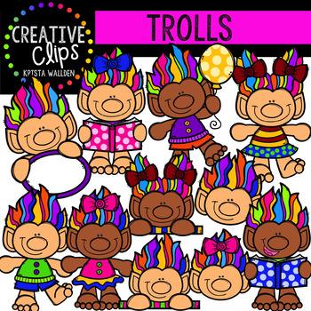 Trolls {Creative Clips Digital Clipart}