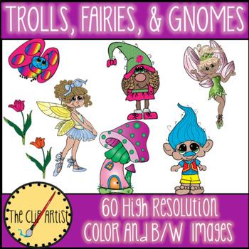 Trolls Clip Art