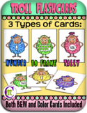 Trolls Flashcards Numbers 0-10 Ten Frame Tally and Number Cards